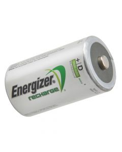 Energizer D Cell Rechargeable Power Plus Batteries RD2500 mAh Pack of 2 - ENGRCD2500