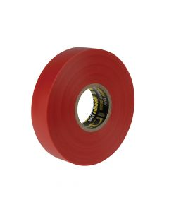 Everbuild Electrical Insulation Tape Red 19mm x 33m - EVB2ELECRED
