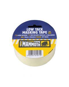 Everbuild Low Tack Masking Tape 50mm x 25m - EVB2LOWMT50