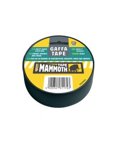 Everbuild Gaffa Tape Black 50mm x 45m - EVB2VGTBK45