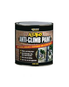 Everbuild ASBO Anti-Climb Paint Black 1 Litre - EVBANTICP1L
