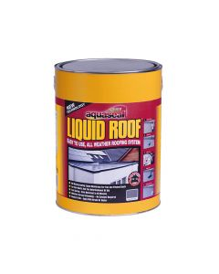 Everbuild Aquaseal Liquid Roof, Slate Grey 7kg - EVBAQLIQRFG7