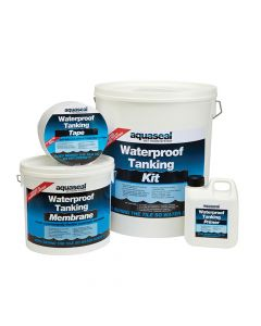 Everbuild Aquaseal Wet Room System Kit 4.5mᄇ - EVBAQSKIT45