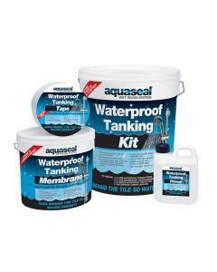 Everbuild Aquaseal Wet Room System Kit 7.5mᄇ - EVBAQSKIT75