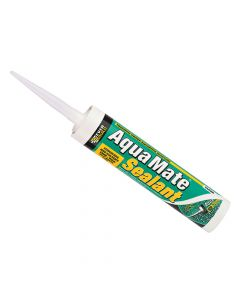 Everbuild Aqua Mate Silicone Transparent 295ml - EVBAQUATR