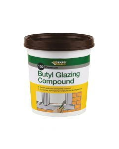 Everbuild 102 Butyl Glazing Compound Brown 2kg - EVBBUTGCB2KG