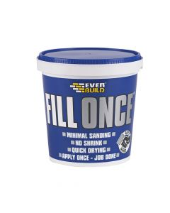 Everbuild Ready Mix Fill Once 325ml - EVBFILONCE03