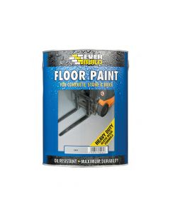 Everbuild Floor Paint Grey 5 Litre - EVBFLOORGR