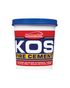 Everbuild KOS Fire Cement, Black 1kg - EVBKOSBLK1K