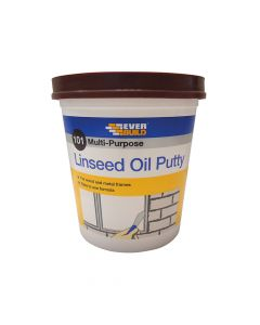 Everbuild 101 Multi-Purpose Linseed Oil Putty, Brown 2kg - EVBMPPB2KG