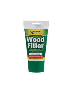 Everbuild Multi-Purpose Premium Joiners Grade Wood Filler Light Stainable 100ml - EVBMPWFL100