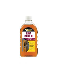 Everbuild Raw Linseed Oil 500ml - EVBRAWLIN