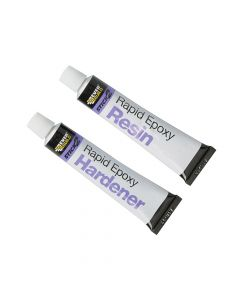 Everbuild STICK2 Rapid Epoxy 2 x 12ml Tubes - EVBS2RAPIDET