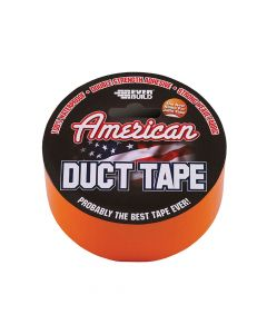 Everbuild American Duct Tape Orange 50mm x 25m - EVBUSDTO25M