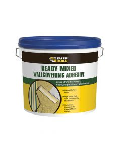 Everbuild Ready Mixed Wallcovering Adhesive 4.5kg - EVBWALLRD4