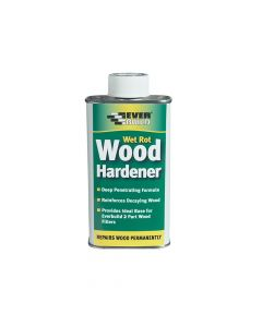 Everbuild Wet Rot Wood Hardener 250ml - EVBWOODHARD2