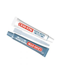 Evo-Stik Epoxy Rapid Metal 2 x 15ml Tubes (5 Mins) - EVO808553