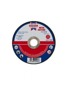 Faithfull Metal Cut Off Disc 100 x 3.2 x 16mm - FAI1003M