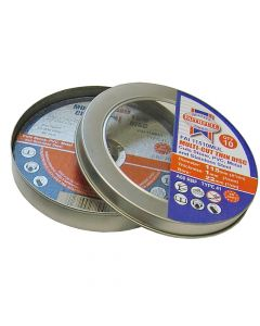 Faithfull Multi-Cut Cutting Discs 115 x 1.0 x 22mm (Pack of 10) - FAI11510MUL
