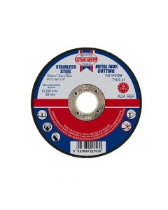 Faithfull Metal Cut Off Disc 115 x 1.2 x 22mm - FAI11512M