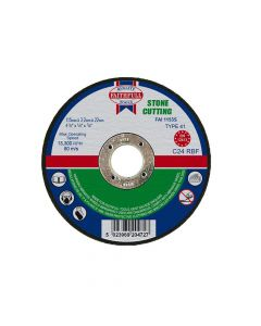 Faithfull Stone Cut Off Disc 115 x 3.2 x 22mm - FAI1153S