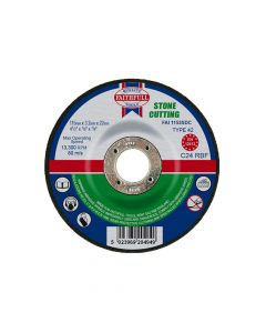 Faithfull Depressed Centre Stone Cut Off Disc 115 x 3.2 x 22mm - FAI1153SDC