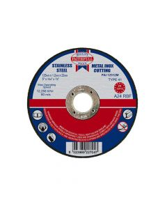 Faithfull Metal Cut Off Disc 125 x 1.2 x 22mm - FAI12512M