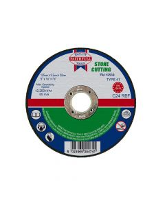 Faithfull Stone Cut Off Disc 125 x 3.2 x 22mm - FAI1253S