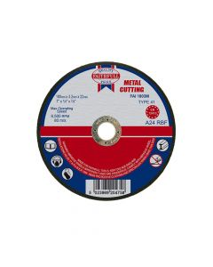 Faithfull Metal Cut Off Disc 180 x 3.2 x 22mm - FAI1803M