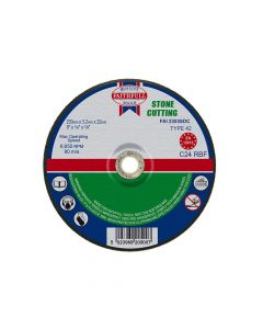 Faithfull Depressed Centre Stone Cut Off Disc 230 x 3.2 x 22mm - FAI2303SDC