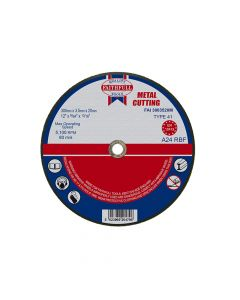 Faithfull Metal Cut Off Disc 300 x 3.5 x 20mm - FAI3003520M
