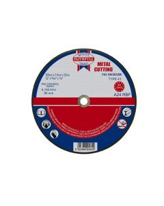 Faithfull Metal Cut Off Disc 300 x 3.5 x 22mm - FAI3003522M