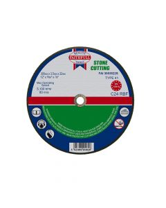 Faithfull Stone Cut Off Disc 300 x 3.5 x 22mm - FAI3003522S