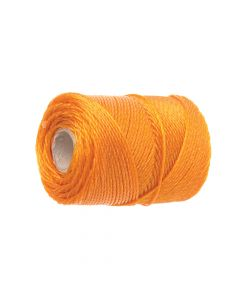 Faithfull 3100 Polyethylene Brick Line 100m (328ft) Orange - FAI3100