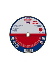 Faithfull Metal Cut Off Disc 355 x 3.5 x 25mm - FAI3503525M