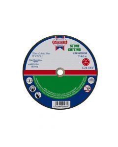 Faithfull Stone Cut Off Disc 355 x 3.5 x 25mm - FAI3503525S