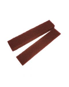 Faithfull Abrasive Plumb Strips Maroon Assorted 50 x 250mm (6) - FAIAPLUSTRIP