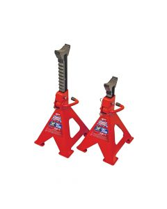 Faithfull Axle Stands Quick Release Ratchet Adjustment 6000kg - FAIAUAXLE6