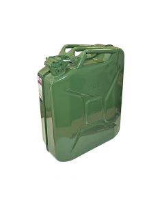 Faithfull Green Jerry Can - Metal 20 Litre - FAIAUJERRY20