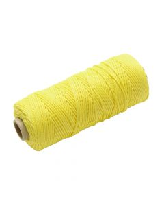 Faithfull Hi Vis Nylon Brick Line 105m (344ft) Yellow - FAIBLHVY