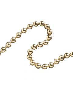 Faithfull Ball Chain Polished Brass 3.2mm x 10m - FAICHBPB3210