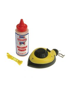 Faithfull Rapid Chalk Line, Chalk & Level - FAICLRAPSET