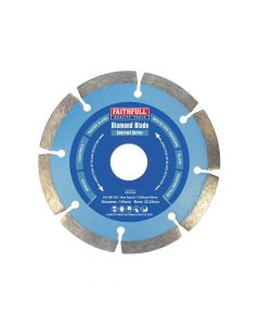 Faithfull Contract Diamond Blade 115 x 22.2mm - FAIDB115C