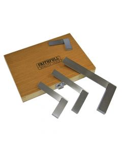 Faithfull Engineers Squares Set, 4 Piece (50, 75, 100, 150mm) - FAIESSET4