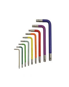 Faithfull Star Key Coloured Arm Set of 9 (T10-T50) - FAIHKS9SCC