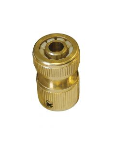 Faithfull Brass Female Hose Connector 12.5mm (1/2in) - FAIHOSEFC