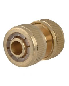 Faithfull Brass Hose Mender 12.5mm (1/2in) - FAIHOSEMEND