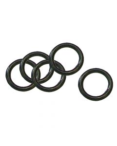 Faithfull O-Rings for Brass Fittings (Pack of 5) - FAIHOSERINGS