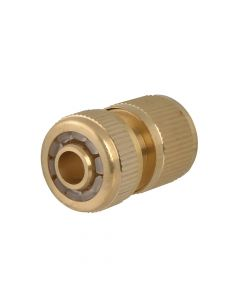 Faithfull Brass Female Water Stop Connector 12.5mm (1/2in) - FAIHOSEWC