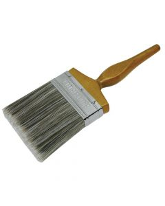 Faithfull Superflow Synthetic Paint Brush 100mm (4in) - FAIPBSY4